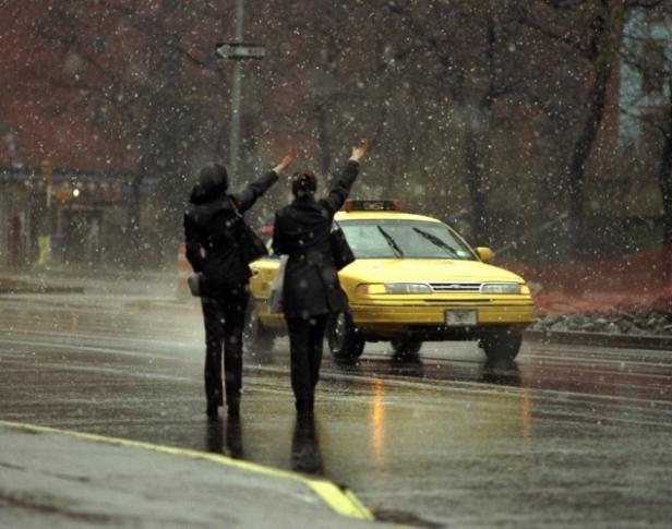 taxi-rain
