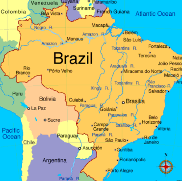 Sao Paulo Centric World Geography Quiz – Tossing off the Bowlines